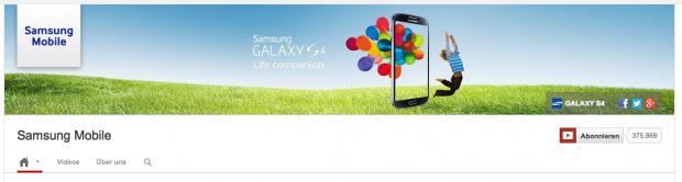 Beispiel Samsung Header