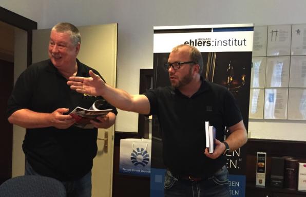 Whisky-Experten unter sich?  Top-Experte Michael Gradl und konsument Michael Ehlers