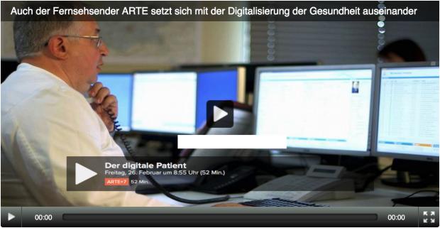 """""""Der digitale Patient"""" auf ARTE"""