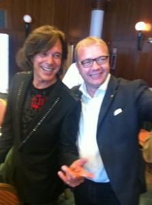 """Jürgen Drews und Michael Ehlers beim """"Club 55 auf Palma/Mallorca 2012"""