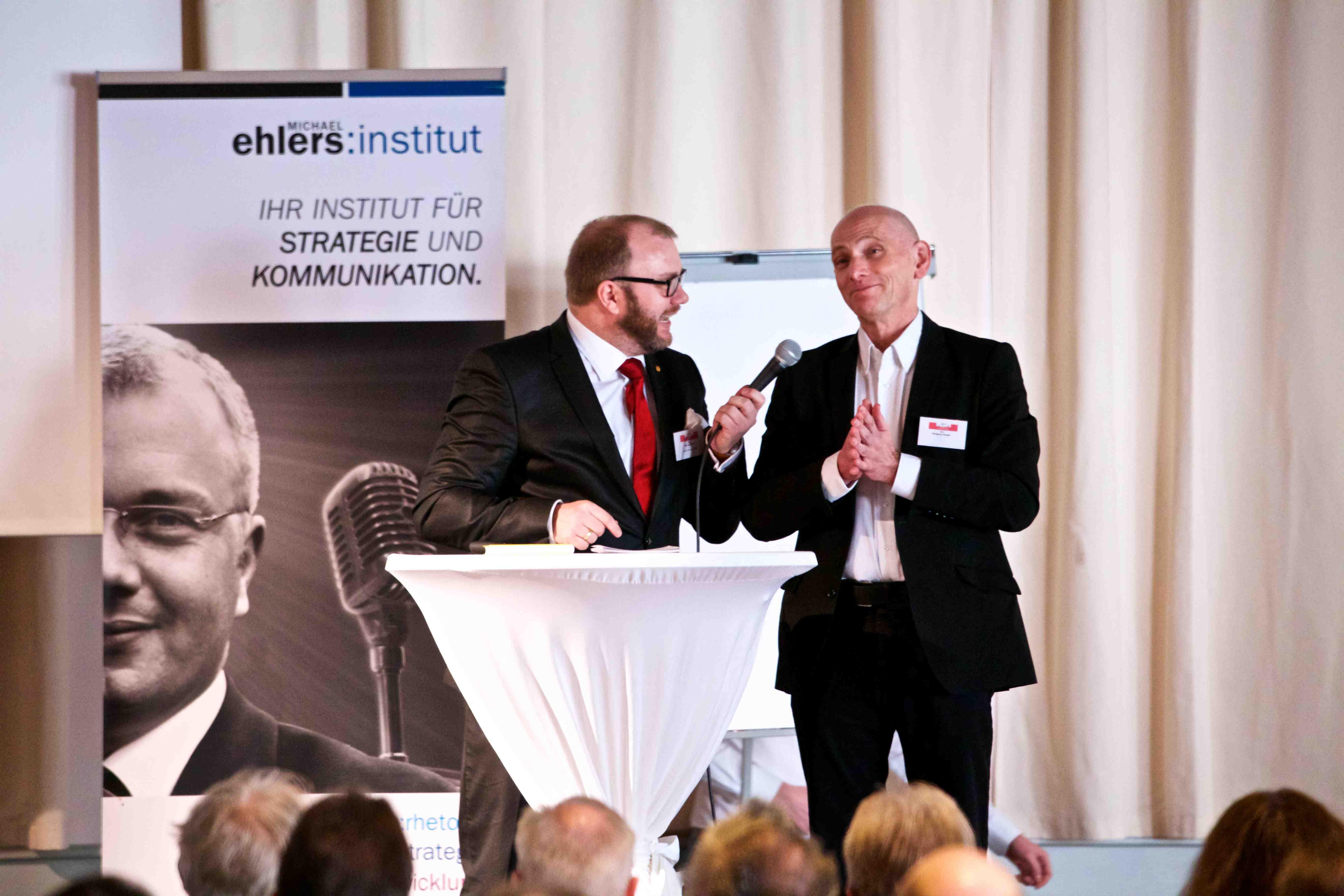 Wolfgang Heyder im Trainer-Talk mit Michael Ehlers