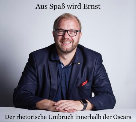 Rhetorik Oscars Michael Ehlers Interview Kurier